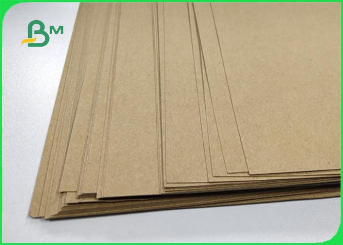 200g to 350g Test Liner Sheets Brown Color 70 * 100cm FSC As Packing Material